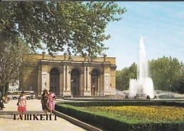 OUZBEKISTAN---capitale TASHKENT---opera And Ballet Theatre--voir  2 Scans - Uzbekistan
