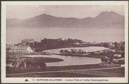 Anciens Ports Et Institut Océanographique, Carthage-Salammbo, C.1920 - Younès CPA - Tunisia