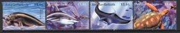 Antigua & Barbuda 2001 Tropical Marine Life Group Of 4 X $1.65 Values, Hinged Mint, SG 3369/72 - Antigua And Barbuda (1981-...)