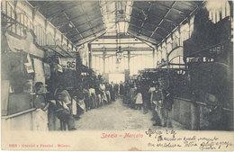 Cpa Italie – Spezia – Mercato ( Halles ) - Otros
