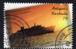 Antigua & Barbuda 2001 Scientology Ship Freewind 75c Value, Used, SG 3384 - Antigua And Barbuda (1981-...)