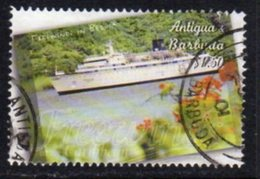 Antigua & Barbuda 2001 Scientology Ship Freewind 90c Value, Used, SG 3385 - Antigua And Barbuda (1981-...)