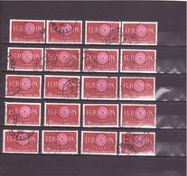 1267   OBL  Y & T« Lot 38 Timbres Pour Oblitération 2 Scans »  Europa *FRANCE*  Lot/97 - Francia
