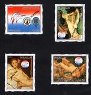 PARAGUAY   PHILEXFRANCE  1989  BICENTENAIRE DE LA REVOLUTION FRANCAISE    SPECIMEN    MUESTRA   4 Timbres NEUFS - Paraguay