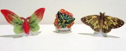 PROMO - Fèves Brillantes -  Les Papillons Par 3 - Nouvelle Guinée, Les Papillons Et Le Demi-deuil (Atlas) - Animals
