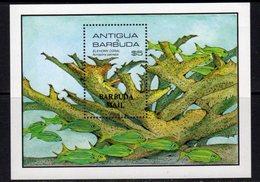 Barbuda 1985 Marine Life Elkhorn Coral MS, MNH, SG 836 - Antigua And Barbuda (1981-...)