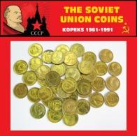 SET LOT OF 50 SOVIET UNION RUSSIA USSR 1 KOPEK KOPECKS COINS 1991 CCCP UNC - Russia