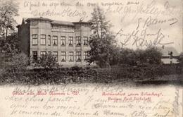 GRUSS AUS BAD HAMM I. W. RESTAURATION ZUM SILVERBERG    (CARTE PRECURSEUR ) - Hamm