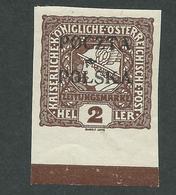 1919. NEWSPAPER  STAMP  OF  AUSTRIA - 1850-1918 Empire