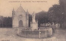 3U - 33 - Toctoucau - Gironde - Place De L'Eglise Saint-Vincent - Henry Guillier N° 11084 - Autres Communes