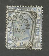 Grande-Bretagne N°62 Cote 18 Euros - Used Stamps