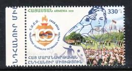 Armenien / Armenie / Armenia 2018, 100th Anniv. Of Homenetmen. Scouting, Football Basketball Tennis, Sport - MNH - Nuevos