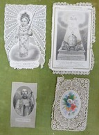 Lot De 4 Images Pieuses - Enfant Jésus - Monarchie De Saint Pierre - Saint François-Xavier - Images Religieuses