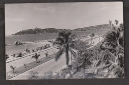 View Of Playa Hornos, Acapulco, Mexico - Real Photo - Unused 1950s - Mexique