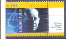 2005. Estonia, Composer Tubin, 1v, Mint/** - Estonia