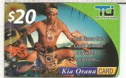 COOK ISLANDS 20 $ - Cookeilanden