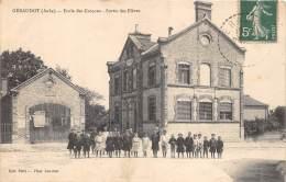 10 - AUBE / Géraudot - 101521 - Ecole Des Garçons - Beau Cliché Animé - France