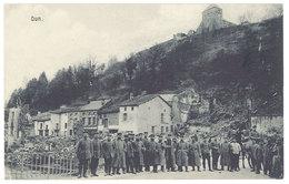 Cpa Dun  ( Guerre, Soldats  ) - Dun Sur Meuse