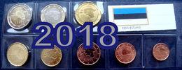 2018 ESTLAND , ESTONIA Münzen 1 Cent - 2 Euro 3,88 Eiro 2018 COINS UNZ / UNC FULL  SET - Estonia