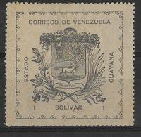 VENEZUELA - 1903 - YT N° 86 * (LEGER DEFAUT : PETIT AMINCI)  - COTE = 85 EUR - Venezuela