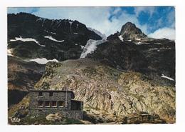 05 Parc National Du Pelvoux Vers Briançon Vallouise N°2769 Le Refuge Et Les Séracs Du Pelvoux En 1972 - Briancon