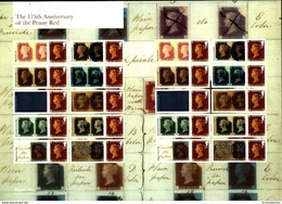 GREAT BRITAIN - 2016  ANNIVERSARY OF THE PENNY RED GENERIC SMILERS SHEET   PERFECT CONDITION - Fogli Completi
