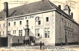 Dolhain - Pensionnat Français-Allemand - Ecole Moyenne De Garçons (animée, Edit Van Cortenbergh 1906) - Limbourg