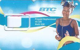 BAHAMAS : BTC SIM ( No Chip) - Bahamas