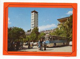 Autocar---Berlin -- Der Muggelturm --animée - Bus & Autocars