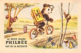 Thème Publicité  Alimentaire Ou Vues: Lot De 25  Images. Ourson  Pain Epices Philbée Dijon 12 X 8.      (voir Scan) - Postcards