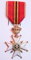 Militaria_31_Croix Fédération Nationale Des Combattants Belgique_1940-1945_WW2 - Belgique