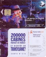 F1259D TÉLÉCARTE 120 U TRANSYLVANIE 2003/04 PUCE OB2 - France