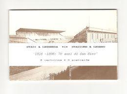 MILANO S. SIRO - SET 6 CARTOLINE - STADIO - ESTADIO – STADION – STADE – STADIUM – CAMPO SPORTIVO - Stadi