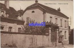 Mont-Saint-Jean - Poste Et Mairie - 1937 - Other Municipalities