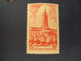 """1947-timbre Neuf N° 772  - Cathédrales De France """"  TOULOUSE   """"      Côte 1.30      Net        0.40 - France"""
