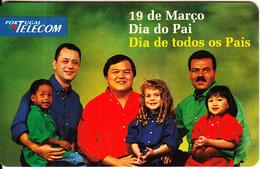 PORTUGAL(chip) - Dia Do Pai 97, Tirage 10000, 02/97, Mint - Portugal
