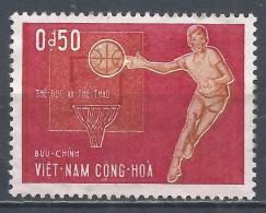 Viet Nam 1965. Scott #272 (M) Basketball * - Viêt-Nam