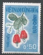 Viet Nam 1967. Scott #301 (M) Cashew * - Viêt-Nam
