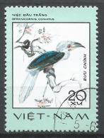 Viet Nam Democratic Republic 1977. Scott #867 (U) Berenicornis Comatus, Rare Bird * - Viêt-Nam