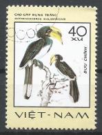 Viet Nam Democratic Republic 1977. Scott #869 (U) Anthracoceros Malabaricus, Rare Birds * - Viêt-Nam