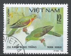 Viet Nam Democratic Republic 1981. Scott #1124 (U) Treron Sieboldi, Bird * - Viêt-Nam