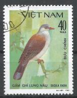 Viet Nam Democratic Republic 1981. Scott #1128 (U) Ducula Badia, Bird * - Viêt-Nam