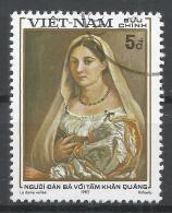 Viet Nam Democratic Republic 1983. Scott #1289F (U) Woman With Veil, Painting  * - Viêt-Nam