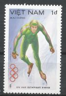 Viet Nam Democratic Republic 1984. Scott #1353 (MNH) Speed Skating * - Viêt-Nam