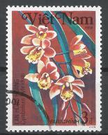 Viet Nam Democratic Republic 1984. Scott #1382 (U) Cymbidium Hybridum, Orchid, Flower * - Viêt-Nam