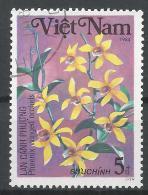 Viet Nam Democratic Republic 1984. Scott #1383 (U) Phoenix Winged Orchids, Flower * - Viêt-Nam