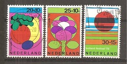Holanda-Holland Nº Yvert  954-56 (usado) (o) - Period 1949-1980 (Juliana)