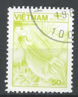 Viet Nam Democratic Republic 1984. Scott #1469 (U) Fauna, Betta Splendens, Fish * - Viêt-Nam