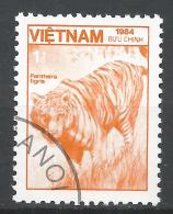 Viet Nam Democratic Republic 1984. Scott #1473 (U) Fauna, Panthera Tigris, Tiger* - Viêt-Nam