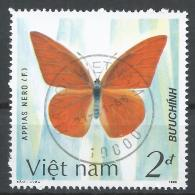 Viet Nam Democratic Republic 1987. Scott #1695 (U) Appias Nero, Butterfly * - Viêt-Nam